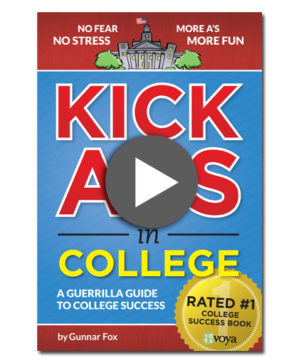 kickass in college book cover image click to play video